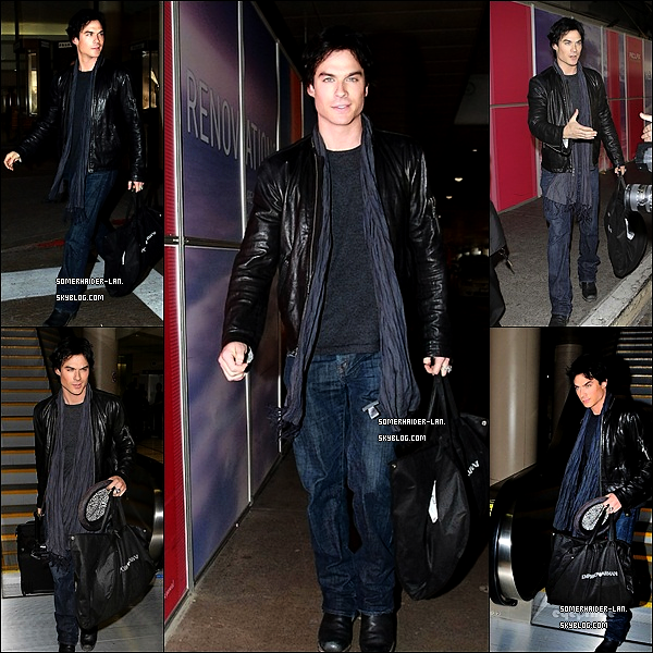 10 janvier : Ian était à L'aéroport de Los Angeles direction les PCA       Ajoutes-moi à tes amis ♥ - ajoute-moi dans tes favoris ♥ - Newsletter ♥