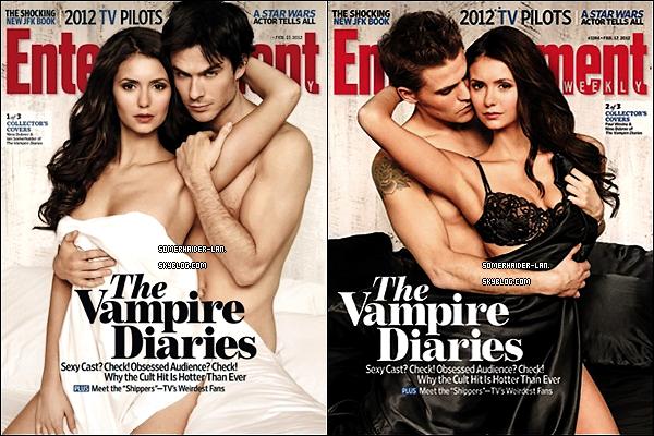 """Février 2012: Découvrez un nouveau shoot du Trio pour le magazine """"Entertainment Weekly"""". Ajoutes-moi à tes amis ♥ - ajoute-moi dans tes favoris ♥ - Newsletter ♥"""