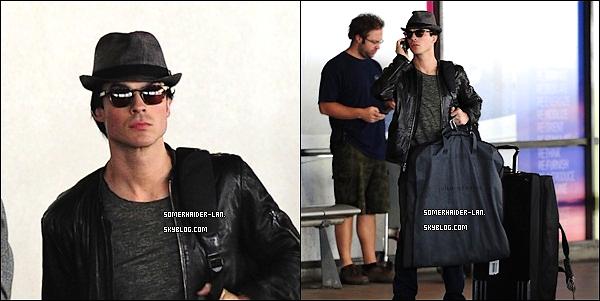 24 Février 2012 : Ian & Nina étaient à l'aeroport de Lax, ils sont partis chacun de leur coté. Ajoutes-moi à tes amis ♥ - ajoute-moi dans tes favoris ♥ - Newsletter ♥