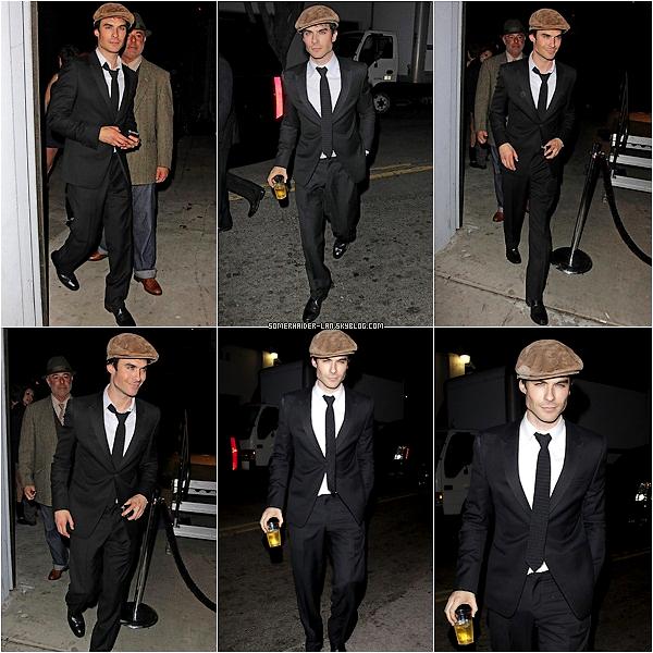 24 Mars 2012 : Ian s'est rendu à l'anniversaire de Perez Hilton apres le 26th Award . Ajoutes-moi à tes amis ♥ - ajoute-moi dans tes favoris ♥ - Newsletter ♥