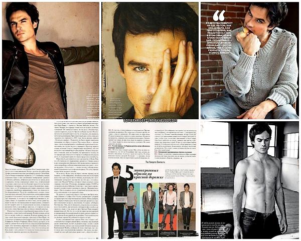 2012 : Découvre un nouveau photoshoot de Ian pour le magazine Instyle ( Russie ). Ajoutes-moi à tes amis ♥ - ajoute-moi dans tes favoris ♥ - Newsletter ♥