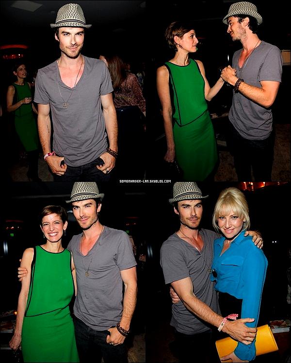 """16 avril 2012 : Ian & Nina se sont rendue à l'évènement Glamour's New Book """"30 THINGS"""".  . Ajoutes-moi à tes amis ♥ - ajoute-moi dans tes favoris ♥ - Newsletter ♥"""