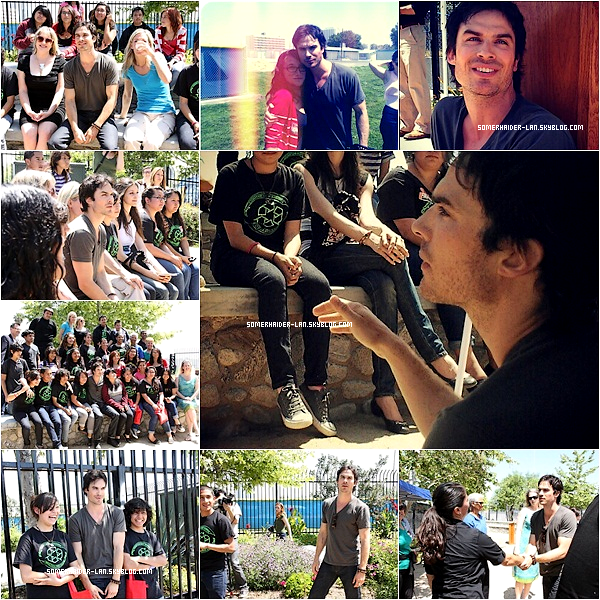 20 avril 2012 : Ian s'est rendu à l'école de ' Compton High School '. Ajoutes-moi à tes amis ♥ - ajoute-moi dans tes favoris ♥ - Newsletter ♥