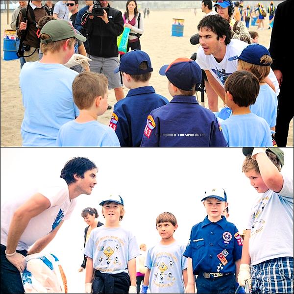 21 avril 2012 : Ian était à la Célébration de la Journée de la Terre sur la plage de Santa Monica. Ajoutes-moi à tes amis ♥ - ajoute-moi dans tes favoris ♥ - Newsletter ♥