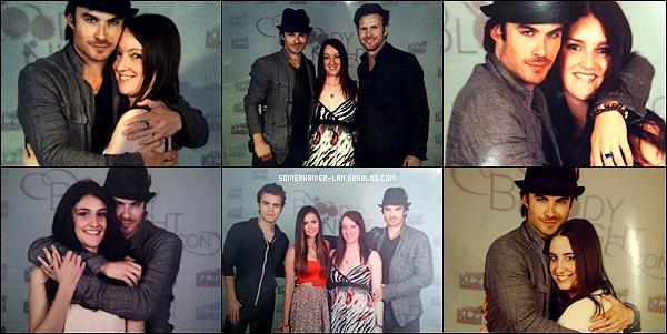 5 et 6 Mai 2012 : Ian & ses co-stars de TVD étaient à la convention ' Bloody Night ' en espagne. Ajoutes-moi à tes amis ♥ - ajoute-moi dans tes favoris ♥ - Newsletter ♥