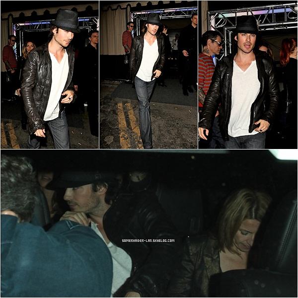 10 Mai 2012 : Ian se baladait dans Hollywood dans la journée puis le soir étaient en boite de nuit avec une amie . Ajoutes-moi à tes amis ♥ - ajoute-moi dans tes favoris ♥ - Newsletter ♥