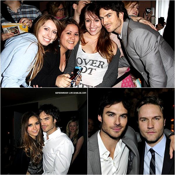 """17 Mai 2012 : Ian s'est rendu avec ses co-stars de TVD à l'événement """" The CW Network' UpFront """" . Ajoutes-moi à tes amis ♥ - ajoute-moi dans tes favoris ♥ - Newsletter ♥"""