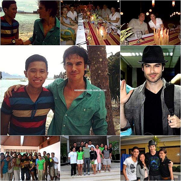 19 et 24 Mai 2012 : Découvre de multiples photos & un nouveau shoot de Ian pendant son séjour au Phillipine. Ajoutes-moi à tes amis ♥ - ajoute-moi dans tes favoris ♥ - Newsletter ♥