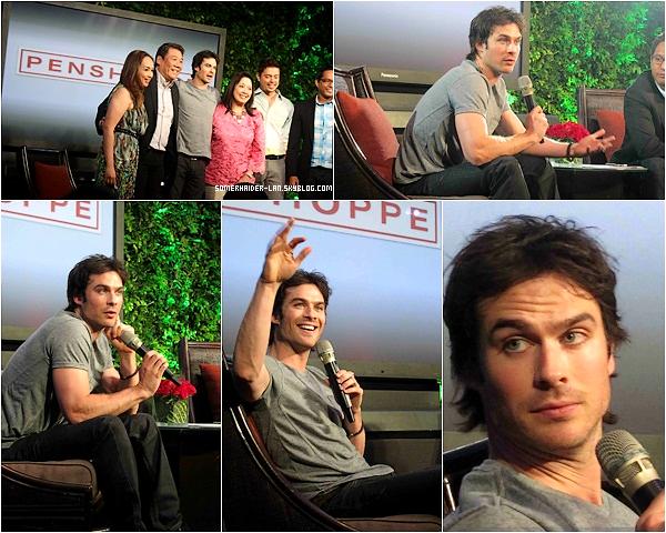 """23Mai 2012 :Ian donnait une conference à la presse de """" Penshoppe """" au Phillipine. Ajoutes-moi à tes amis ♥ - ajoute-moi dans tes favoris ♥ - Newsletter ♥"""
