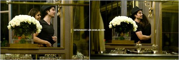 24 Mai 2012 :Ian & Nina ont été vu en amoureux à la sortie d'un restaurant. Ajoutes-moi à tes amis ♥ - ajoute-moi dans tes favoris ♥ - Newsletter ♥