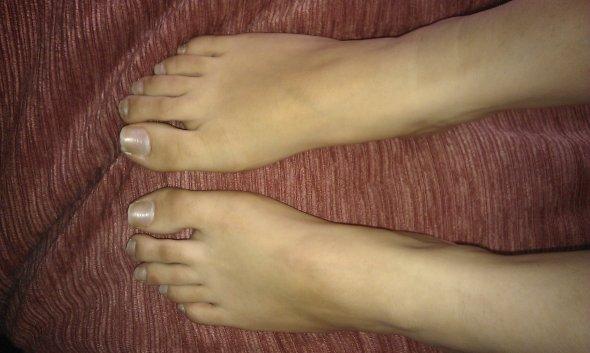 les pieds de ma copine