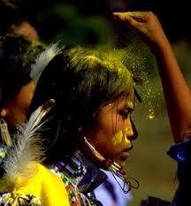 LE RITE DU POLLEN (Apache)