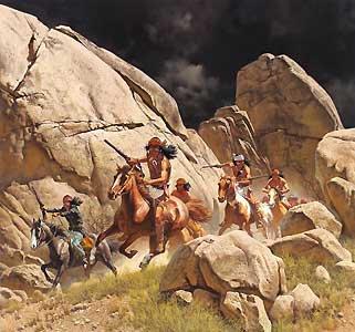 Indien Apache.