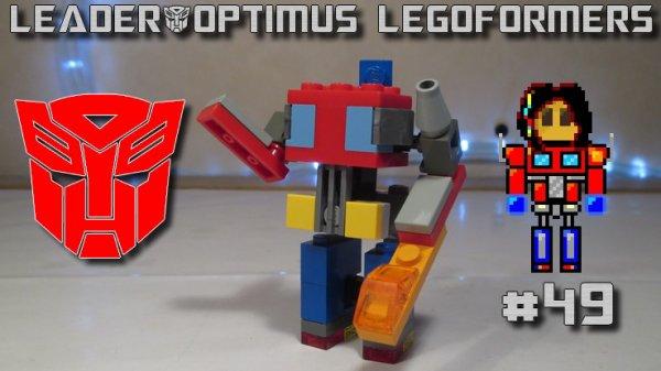 Legoformer Mini G1 Optimus Prime