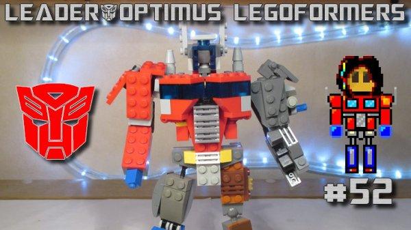Legoformer IDW Optimus Prime (prototype)