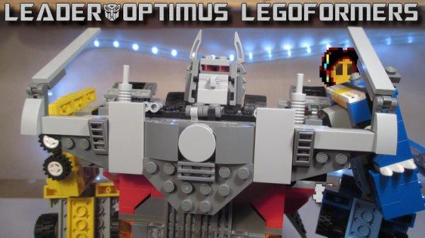 Legoformer Roadking