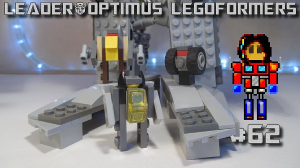 Legoformers Hurricons (Hurricane, Dustcrusher, Stingwind & vaisseau)