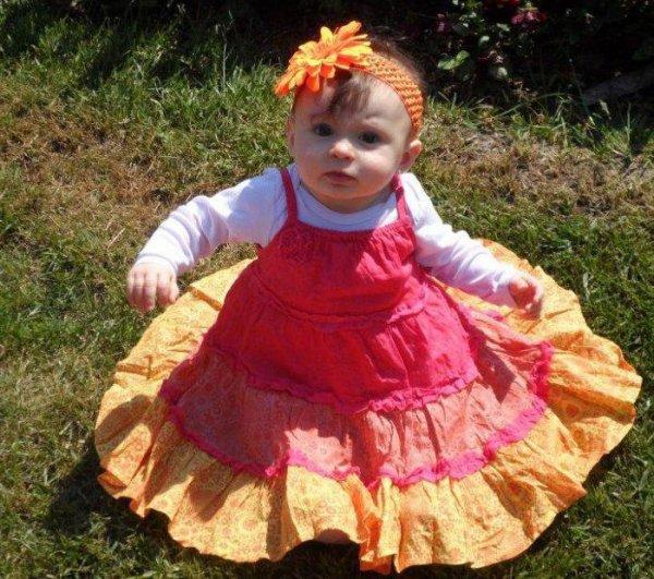 Ma petite fille AMELIA...7 mois