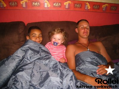 moi et mes deux petit couzin