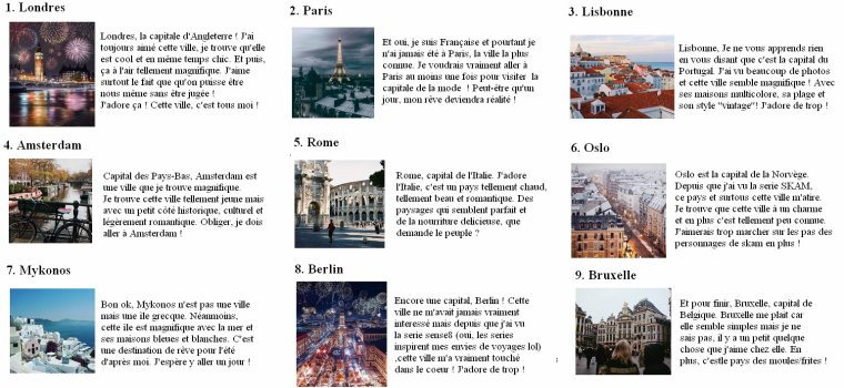 Places where I would like to go in Europe