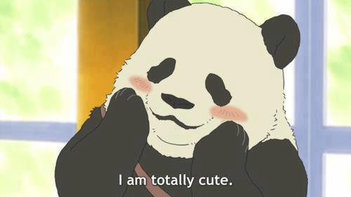 Cute panda ♠