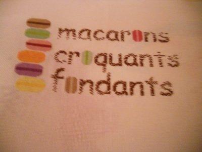 3e partie macarrons