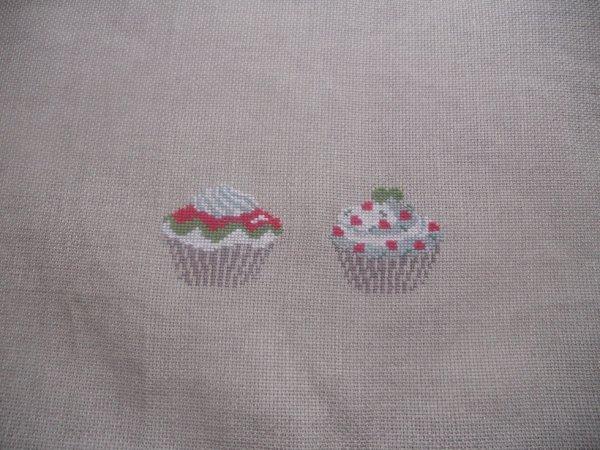 2e cupc cakes noel