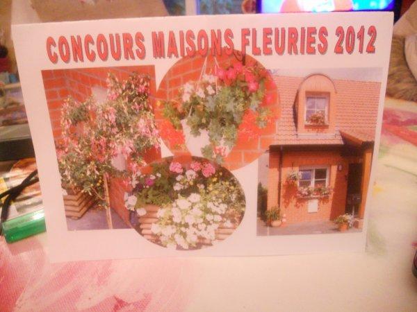 arriver 3e au concours maisons fleuries