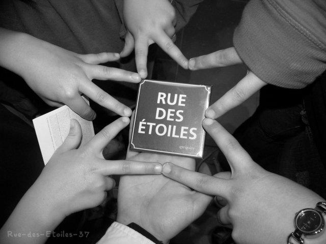 Retrouve moi ... Rue des Etoiles