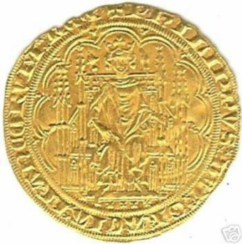 Monnaie royale Phillipe VI Duplessy 258 Chaise d'or