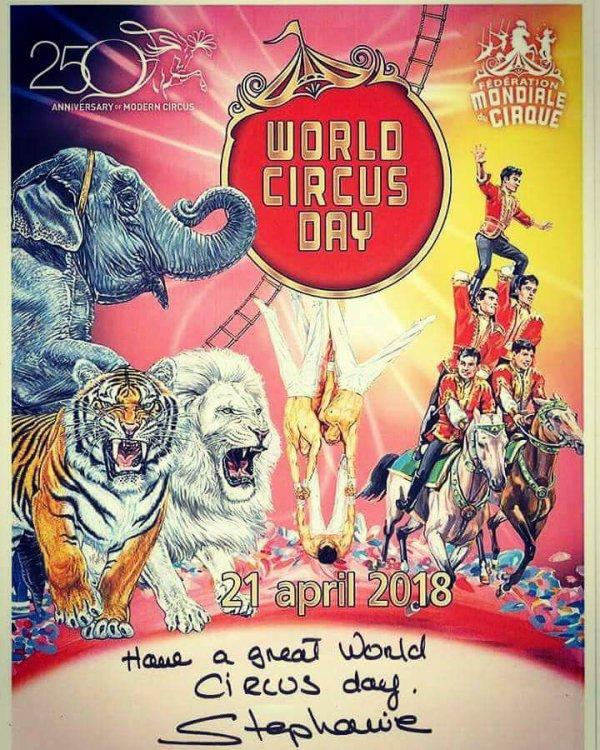 WORLD CIRCUS DAY !!!