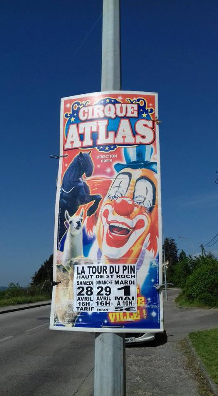 LE CIRQUE ATLAS !!!