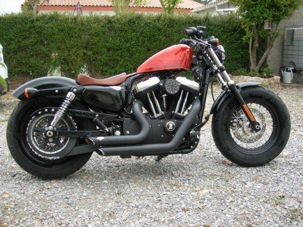 ma moto actuel
