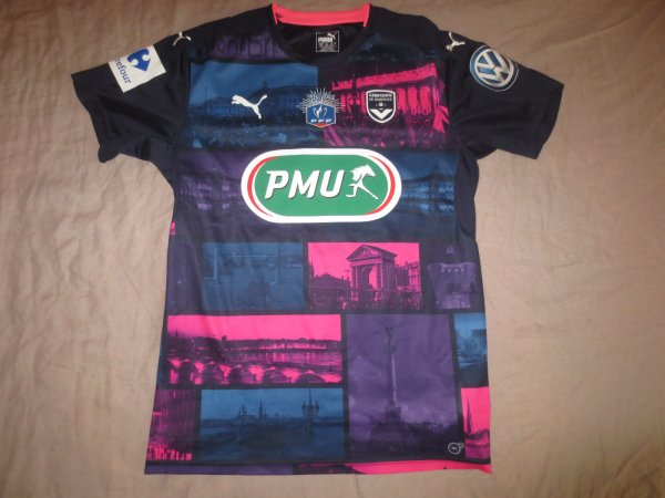 Maillot François Kamano - Coupe de France - 2016/17 - third