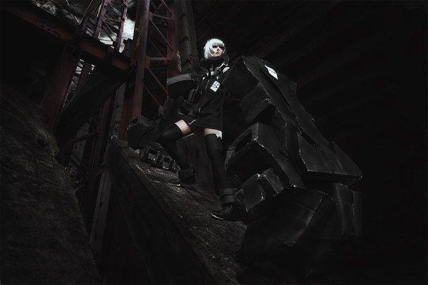 Cosplay Black ★ Rock shooter