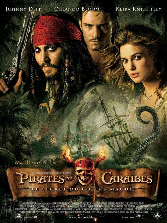 Pirates des Caraibes 2 - Le secret du coffre maudit. ♥