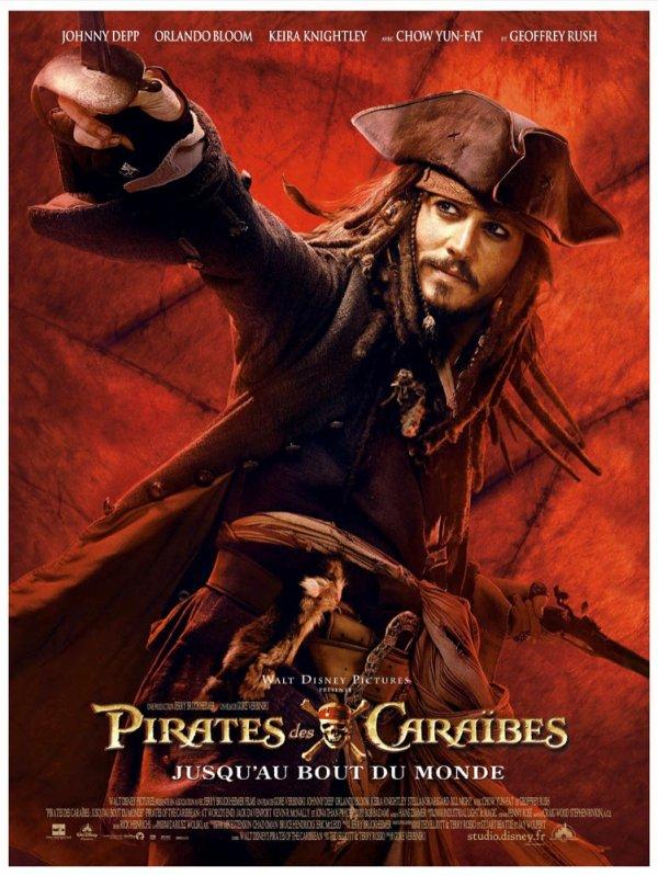 Pirates des Caraibes 3 - Jusqu'au bout du monde. ♥