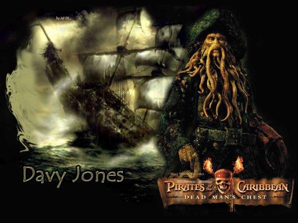 Un Pauvre capitaine sans coeur ni dignité , Davy Jones.. ♥