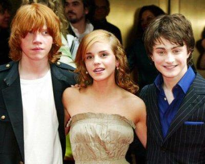 Harry Potter ... x3