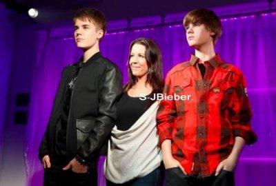 Justin Bieber : Son double chez Madame Tussauds !