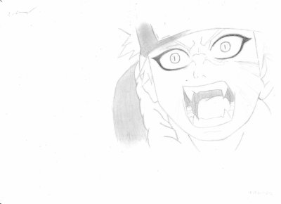 Dessin naruto kyubi manga dessin - Naruto kyubi dessin ...