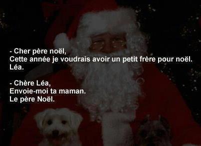 Ne pas oublier la Lettre au Père Noël!