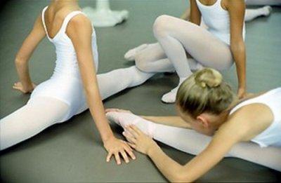 Une ballerine ne connait pas le relâchement..