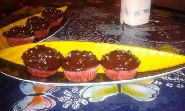 Cup-cakes au chocolat!