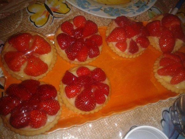 Tartelettes aux fraises!