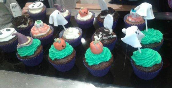 Cup-cakes au Bubble Gum!