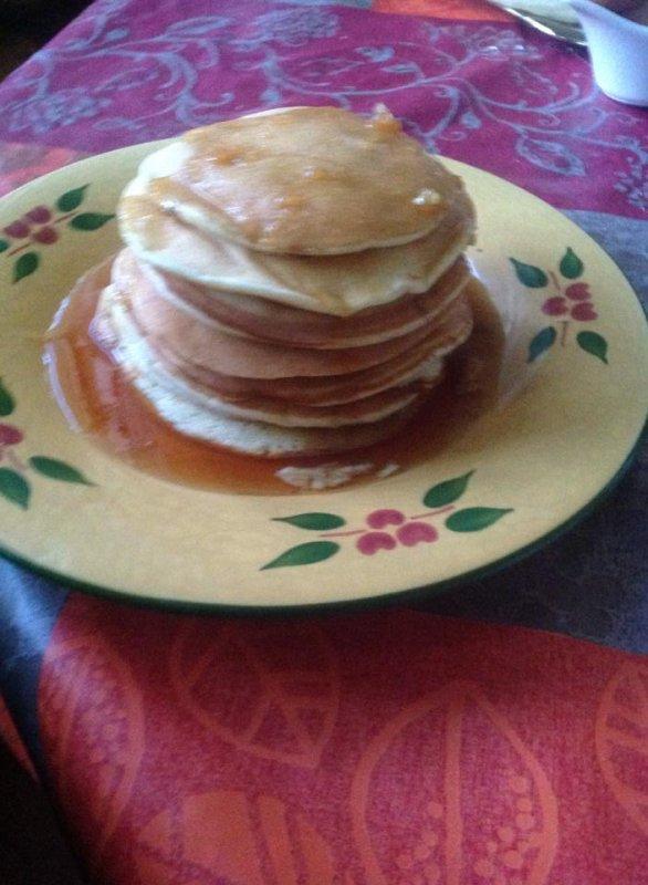 Des Pancakes fait maison....!