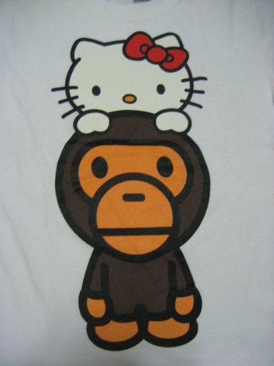 monky hello kitty