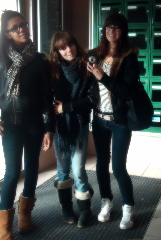 Emma & Gwenaelle ; Mes Amoures. <3