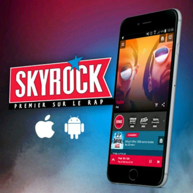 Super l'appli Skyrock !